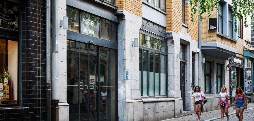 Bienvenue au nouveau site de l'Hôtel Alma Grand-Place