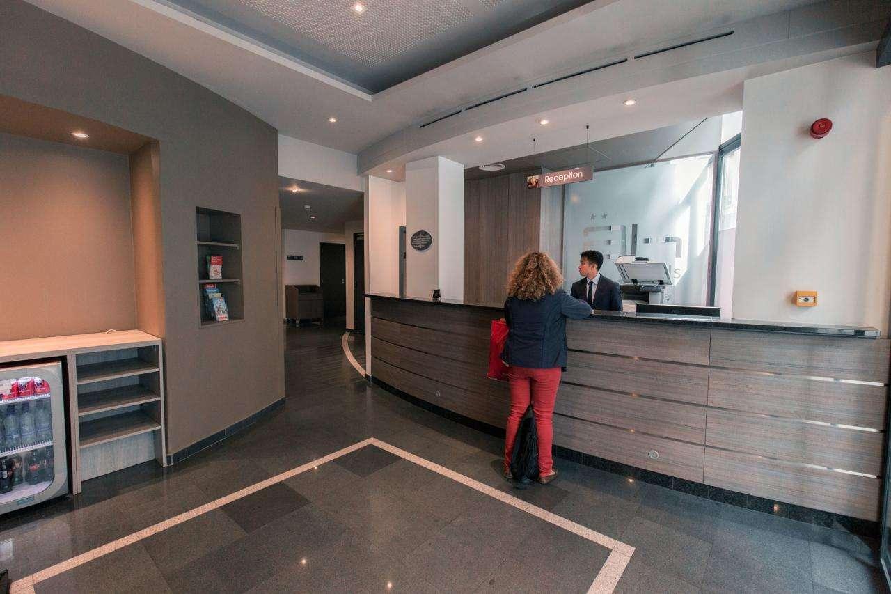 Hôtel Alma Grand-Place - réception